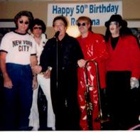 John Lennon Don Jimmy Ross Of The Jaggerz Elton And Michael Jackson